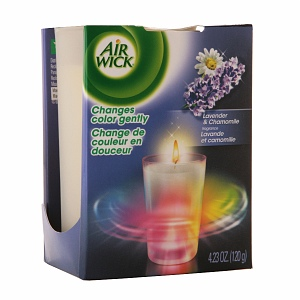 Air Wick Gentle Color Changing Candle