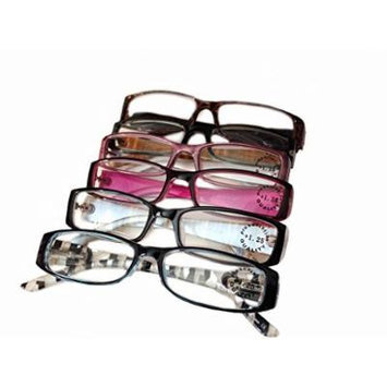 Designer Women's Plastic Reading Glasses Pack of 6 Oriental and Tribal 1.75