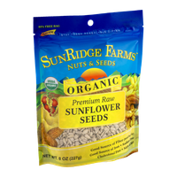 SunRidge Farms Nuts & Seeds Premium Raw Organic Sunflower Seeds