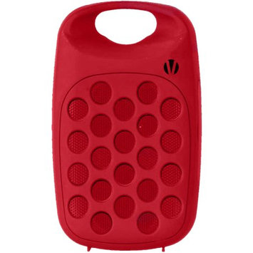 Vivitar Infinite VBT1000 Bluetooth Wireless Rechargeable Clip On Speaker - Red