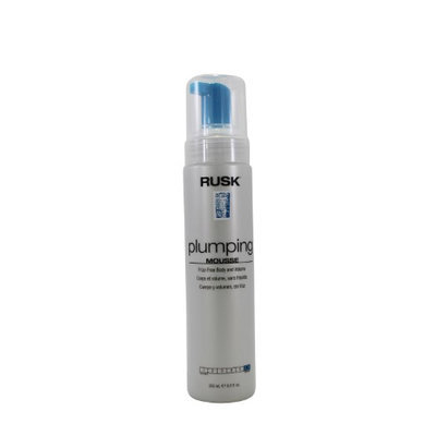 Plumping Mousse Firm Hold by Rusk for Unisex 8.5 oz Mousse