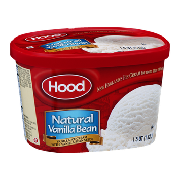 Hood Ice Cream Natural Vanilla Bean