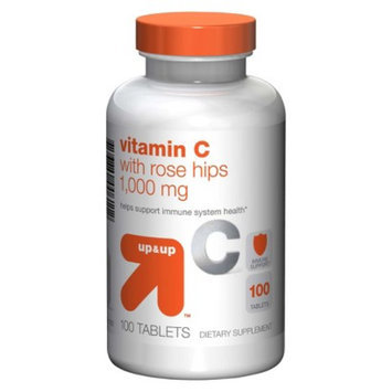 up & up up&up Vitamin C 1000 mg with Rose Hips Tablets - 100 Count