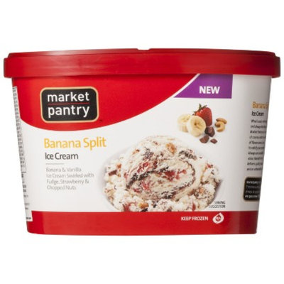 market pantry Market Pantry Banana Split Ice Cream 1.5-qt.