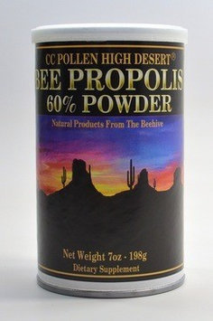 High Desert Bee Propolis Powder (60%), 7 oz, CC Pollen Company