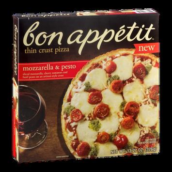 Bon Appetit Thin Crust Pizza Mozzarella & Pesto