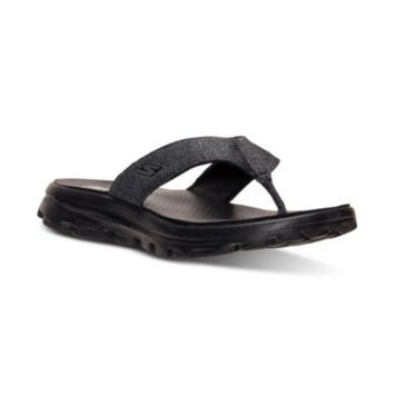 Skechers Women's GOwalk Move - Black Solstice Sport Sandals