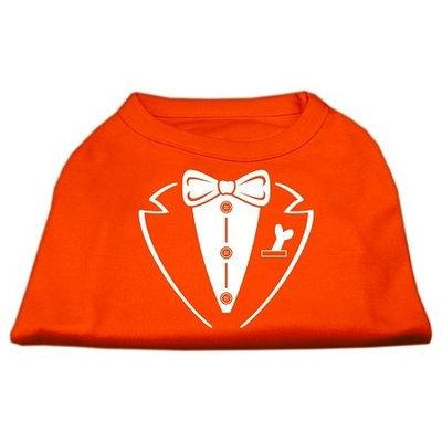 Ahi Tuxedo Screen Print Shirt Orange XXL (18)