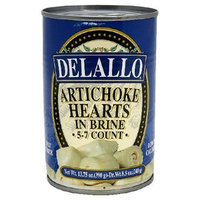 DeLallo Artichoke Hearts, 13.75-Ounce Unit (Pack of 6)