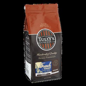 Tully's Coffee French Roast Dark Roast Ground Coffee