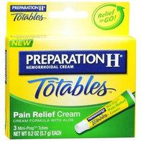 Preparation H Totables Hermorrhoidal Cream -- 3 Mini-Prep Tubes