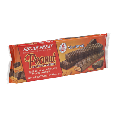 Voortman Chocolate Coated Peanut Butter Wafers Cookies