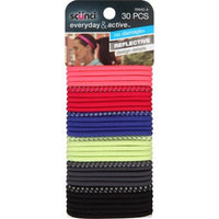 Conair Scunci Everyday & Active Hair Ties, Colors, 30 count