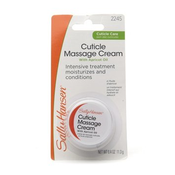 Sally Hansen Cuticle Massage Cream with Apricot Oil