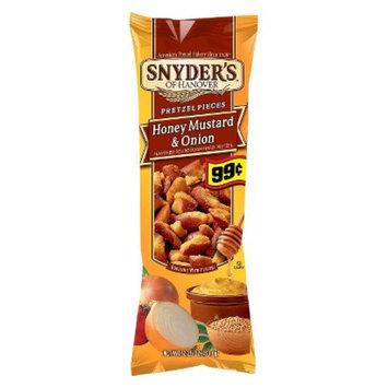 Snyders Snyder's Honey Mustard and Onion Tube Pretzels 2.25oz