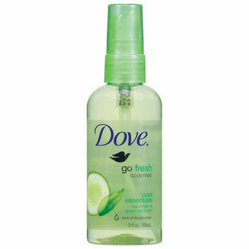 Dove Cool Essentials Body Mist - 3 Fl Oz