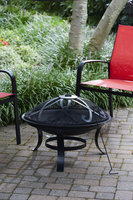 Jaclyn Smith Today Round Fire Pit - TAIWAN NAN SHAN BAMBOO WARE CO