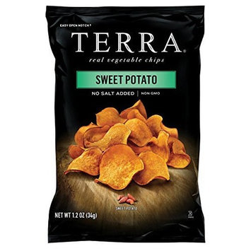TERRA Sweet Potato, No Salt Added, 1.2 ounce (Pack of 24)