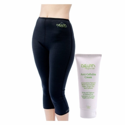 Delfin Spa Bio Ceramic Anti Cellulite Capris With Cream