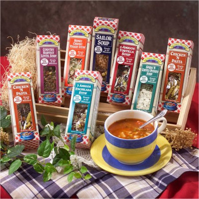 Leonard Mountain Gourmet Soup Mix Sampler, 6 oz, 7 count