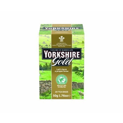 Yorkshire Tea, Gold, 20-Count