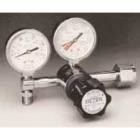 Victor VMG-15LY 2-15 LPM CGA 870 Yoke Diaphragm Style Pediatric Flowgauge Medical Regulator With 2
