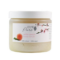 100% Pure White Peach Body Scrub