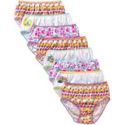 Despicable Me Minions Girls Underwear, 7+1 Bonus Pack