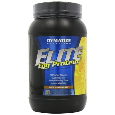 Dymatize Nutrition Elite Egg Protein, Rich Chocolate, 2.0-Pound