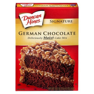 Duncan Hines German Chocolate Cake Mix 16.5 oz