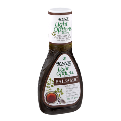 Ken's Light Options Balsamic Vinaigrette Dressing
