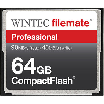 Wintec FileMate 64GB Compact Flash Professional Memory Card