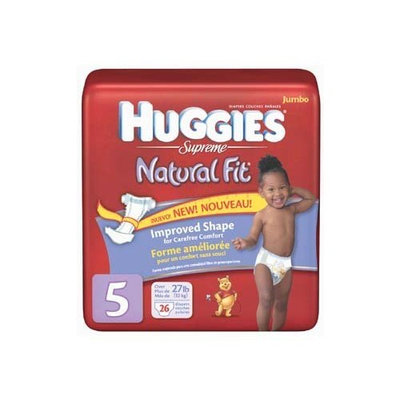 * Huggies Supreme Natural Fit Stage 5 Diapers 26 ct