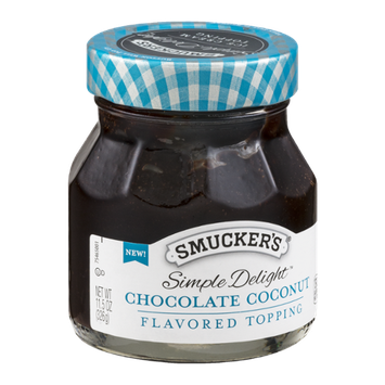 Smucker's Simple Delight Topping Chocolate Coconut