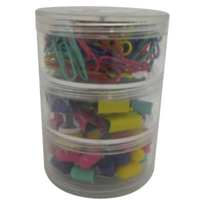 up & up up&up Multipack of Binder Clips and Pins Red Multi