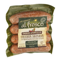 Al Fresco All Natural Chicken Sausage Smoked Andouille