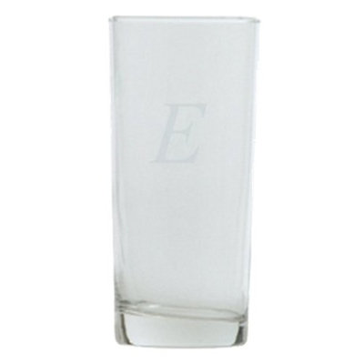 T&C Innovators Block Monogram Highball Set of 4 - E