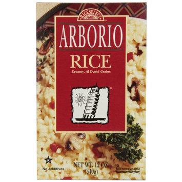 Rice Select RiceSelect Risotto, Arborio Rice 12-Ounce Boxes (Pack of 6)