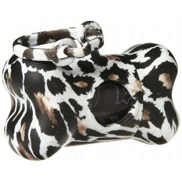 Petego MG0811MA EA United Pets Bon Ton Dog Waste Bag Dispenser Jungle Leopard