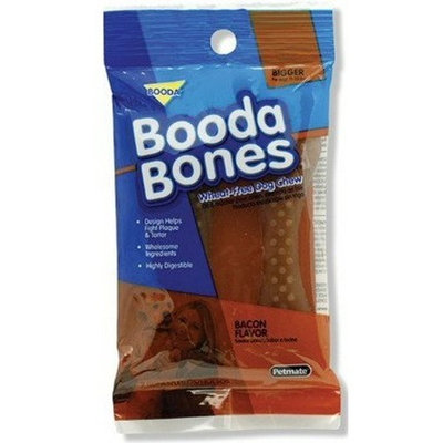 Aspen/Booda Corporation DBX56856 2-Pack Bigger Bone Treat for Pets, Bacon