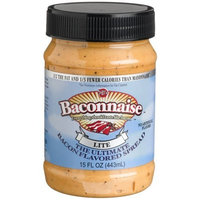 J & D Foods J&D's Baconnnaise Bacon Flavored Spread, Lite, 15-ounce jar (Pack of 3)