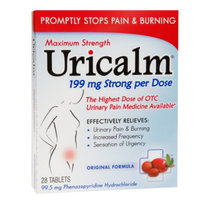 Uricalm Max Strength Urinary Pain Tablets, 28 ea