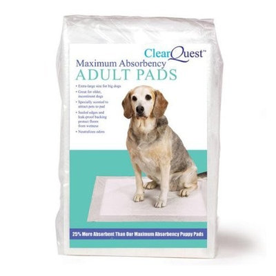Clearquest Max Absorbency Pet Adult Pads