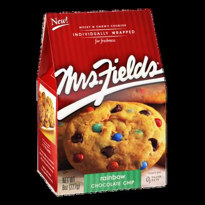 Mrs. Fields Rainbow Chocolate Chip Cookies