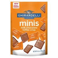 Ghirardelli Milk Chocolate Toffee Crisp minis Stand Up Bag