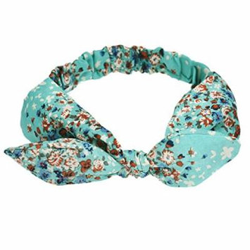 Sankuwen® Rabbit Hair Band Headband (Blue)