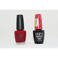 Opi Nail Lacquer and Gelcolor Amore At the Grand Canal V29. Each Contains .5 Oz.