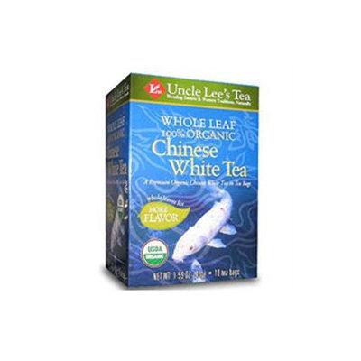 Uncle Lees Tea Uncle Lee's Tea Whole Leaf 100% Organic Chinese White Tea - 18 Teabags