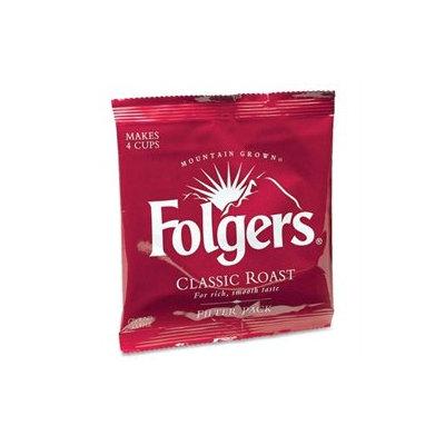Folgers FOL06239 Coffee Filter Packs, Regular, .9-oz, 40 Per Carton