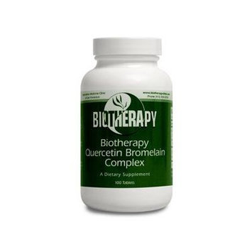 Biotherapy Quercetine Bromelain Complex 100 Tablets